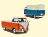 Einen der Helden aus der Wirtschaftswunderzeit nimmt Solido mit dem Volkswagen Bulli als Pritsche in 1:18 aufs Korn