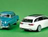 Ponton-Mercedes und Mercedes-Benz E-Klasse als T-Modell Avantgarde