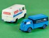 """Tempo Matador Kastenwagen """"Seefische"""" und Mercedes L 406 """"Westmilch"""""""