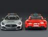 Minichamps liefert auch bei der 1:18-Verkleinerung beide Original-Farben des Mercedes-Pace-Cars von 2020 aus der F1