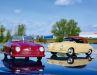 """Lass die Sonne rein: Die Porsche 356 Cabrio """"Gmünd"""" von Schuco als Resinemodelle in 1:18 posieren vor der ersten Ausfahrt zu den Kunden"""