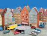 Das Runde im Eckigen: In der typischen Altstadtkulisse setzt Wikings Rundgarage gekonnt architektonische Akzente