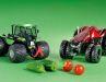 Zukunftsweisende Traktoren kommen nicht selten ungewöhnlich daher, auch im Maßstab 1:32