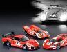 Drei Porsche im Salzburg-Look in 1:43