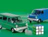 Aus Die Cast und mit geschlossener Karosserie bringt KK Scale den Ford Transit Mk II als Lieferwagen und Bus in 1:18