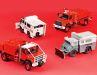 Egal ob vergitterter Unimog oder spezialisierte Iveco-Feuerwehr: Perfex und Alerte gönnen ihren 1:43ern viele gelungene Details   Fotos; C. Hoffmann
