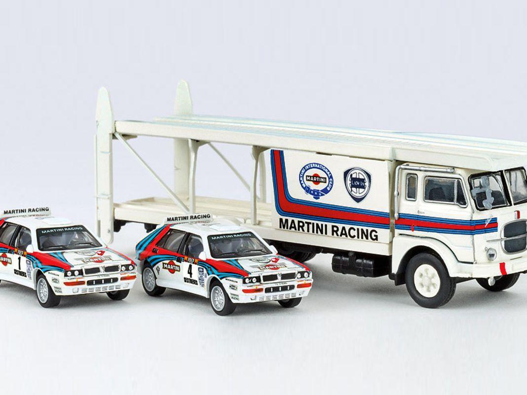 Fiat 642 Renntransporter von Brekina in 1:87