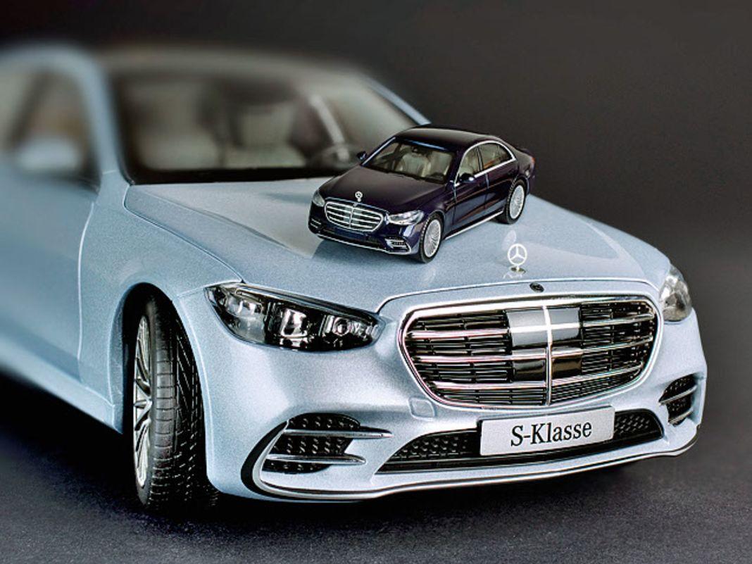 Mercedes S-Klasse in 1:87, 1:43 und 1:18