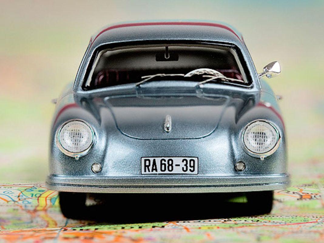 Lindner-Porsche 356 von Masterpiece in 1:43