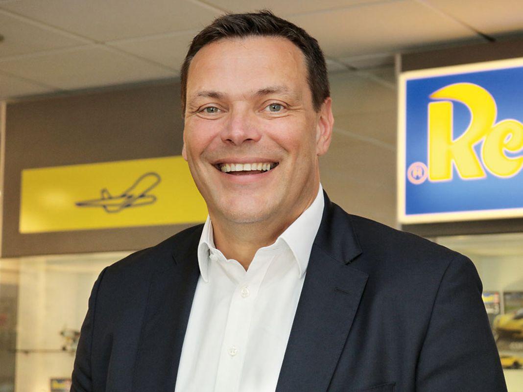 Stefan Krings, Geschäftsführer von Revell