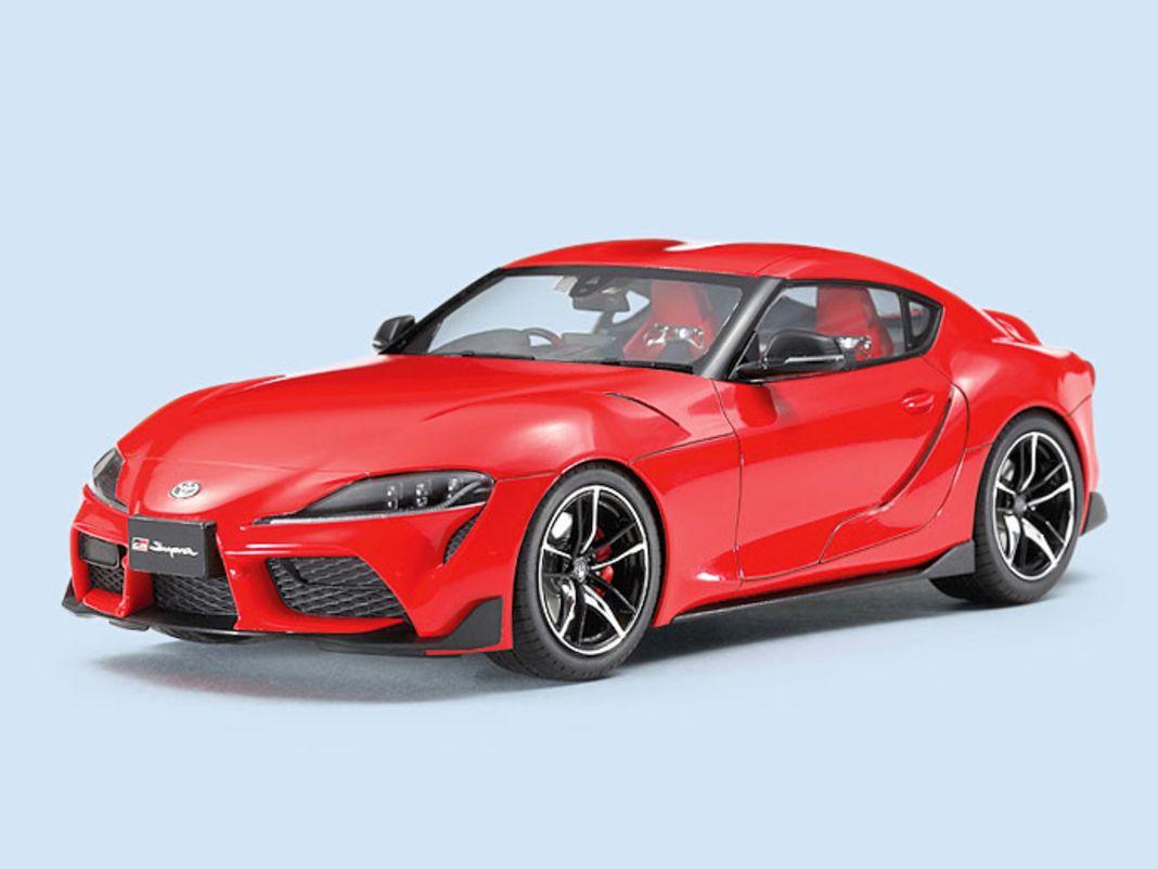 Tamiya bringt in Hammer-Qualität den Toyota Supra GT als 1:24-Bausatz