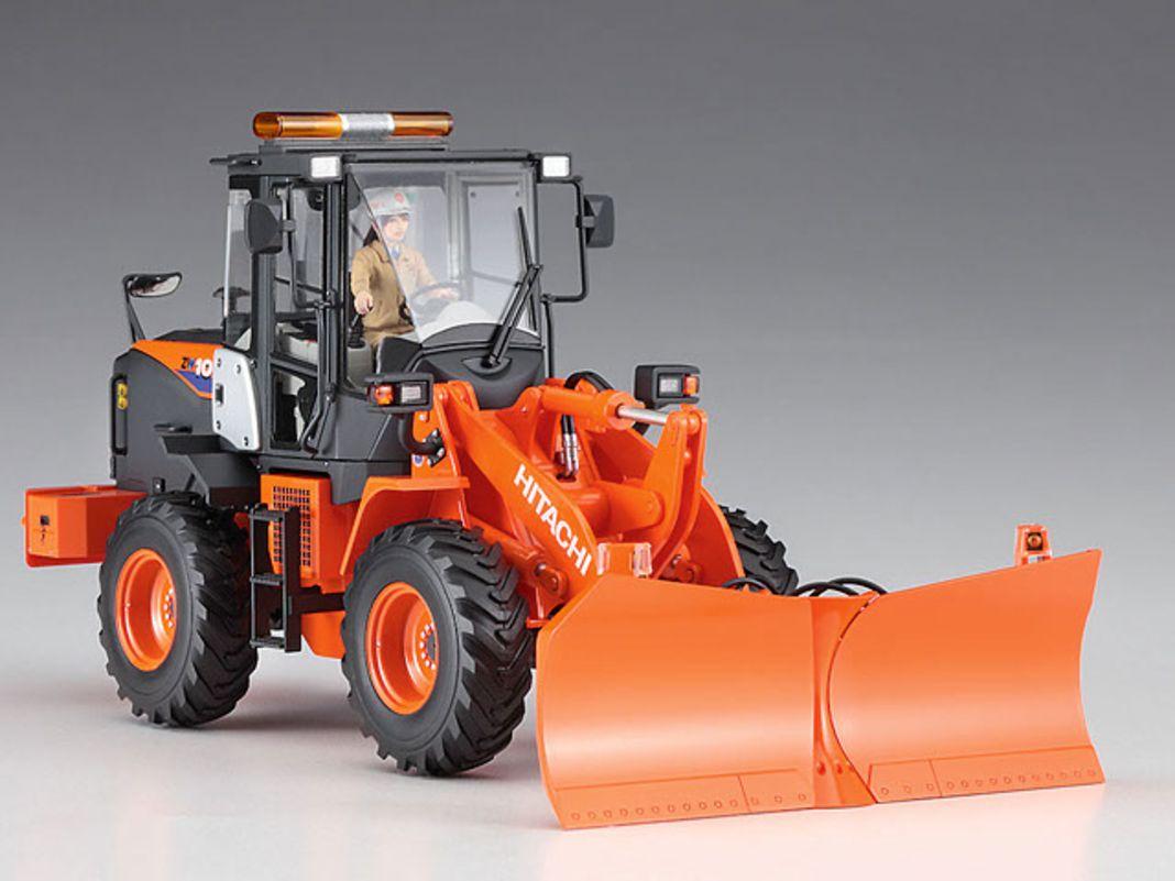 Hasegawa setzt seine Baumaschinenserie im Maßstab 1:35 mit dem Hitachi Radlader Typ ZW100-6 fort