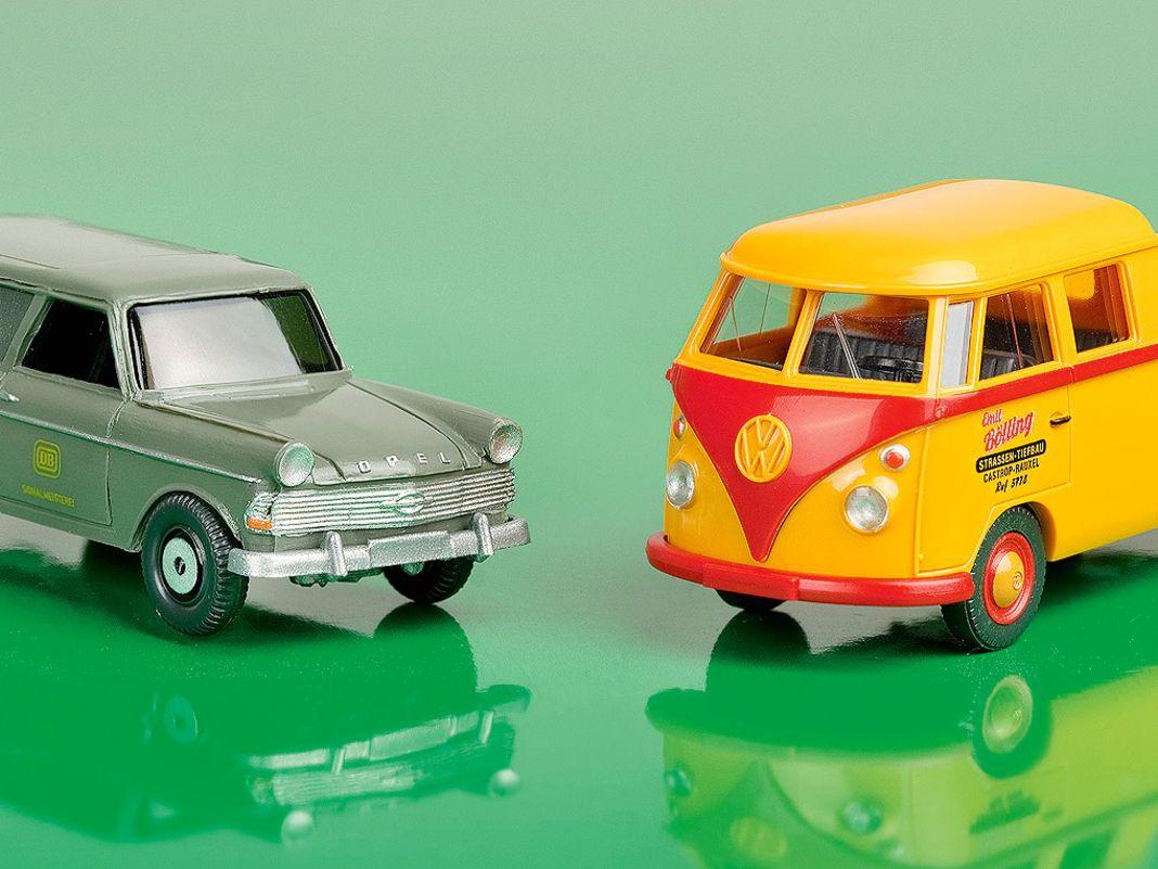 Rekord-Caravan sowie VW-Doka sind etwas für Klassikerfans