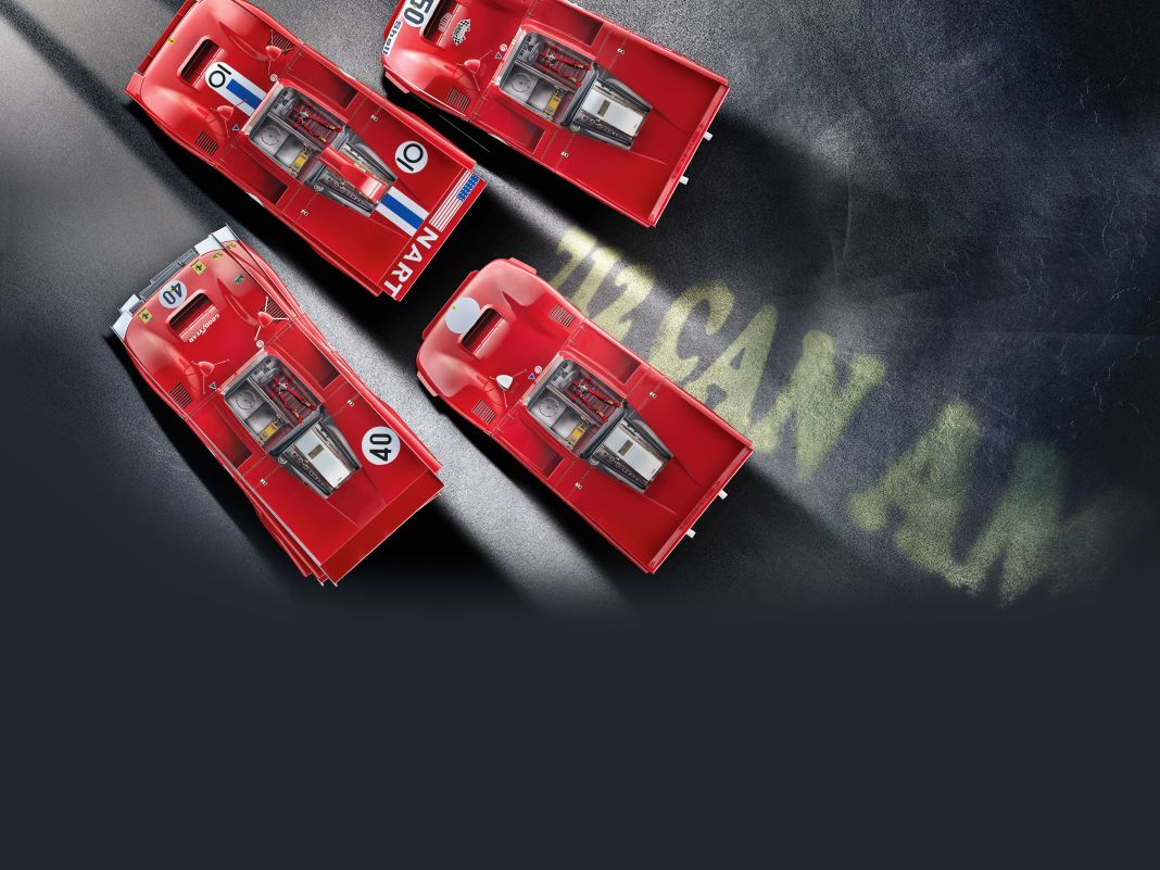 Das Original des Ferrari 712 Can-Am brachte Anfang der Siebziger satte 680 PS auf die Pisten der Can-Am-Serie in den Staaten