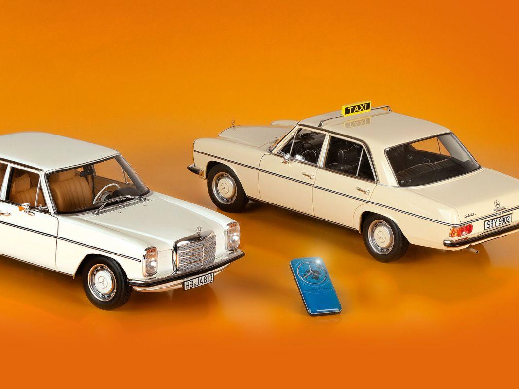 Zwei Autos aus einer Form fertigt Norev beim Mercedes 500 SL und /8, der Fiesta XR2 in 1:18 kommt geschlossen