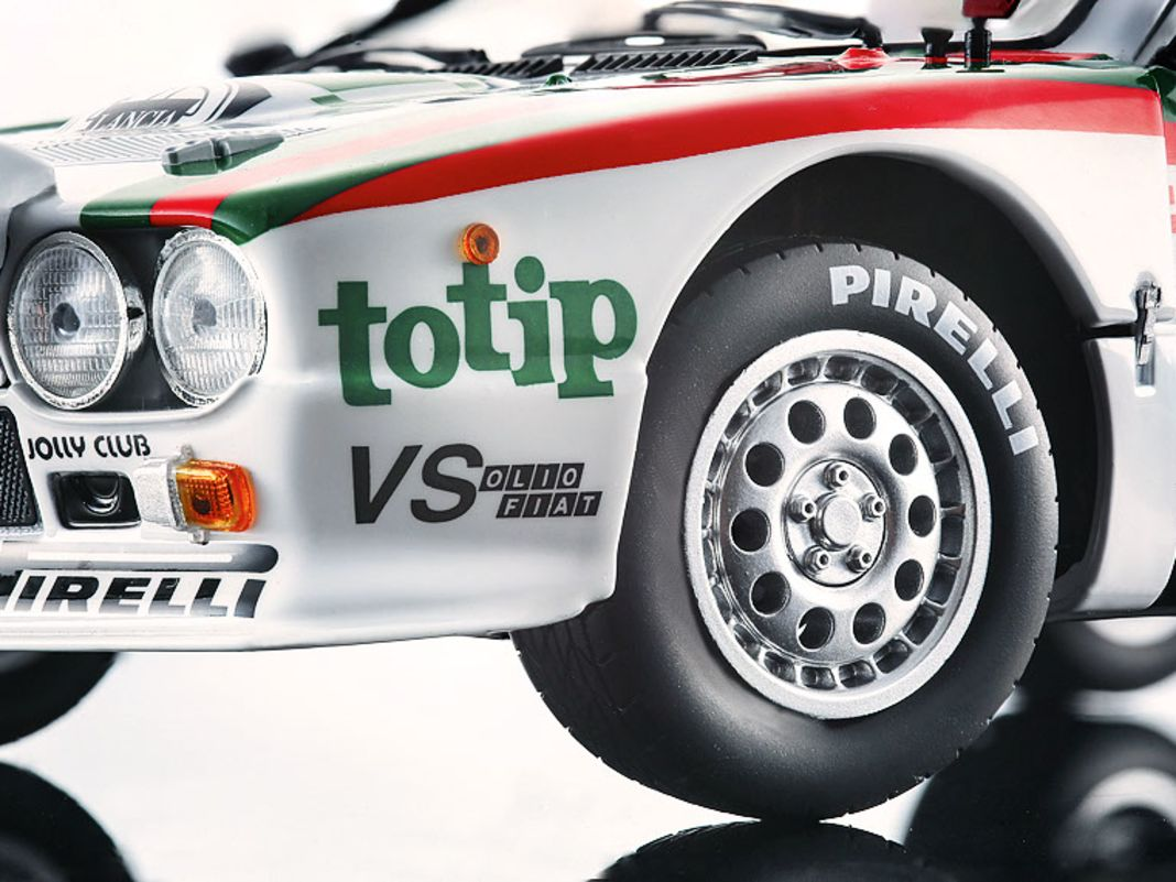 Dem Lancia 037, der in Zusammenarbeit mit Pininfarina und Abarth entstand, kommt Kyosho in 1:18 grandios auf die Spur