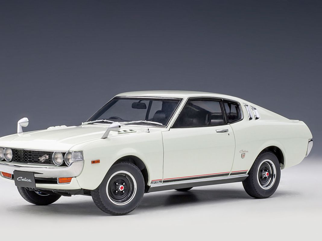 Im Jahr 1973 brachte Toyota sein rasantes Coupé namens Celica als Liftback heraus