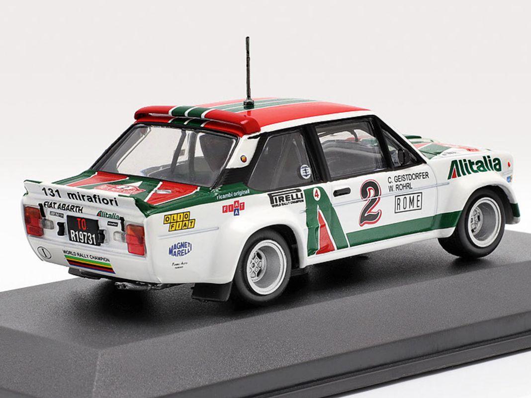Nicht nur mit dem Fiat 131 Abarth und dem Lancia 037, auch mit Ford Capri und Porsche 911 S ließ es Walter Röhrl mächtig krachen