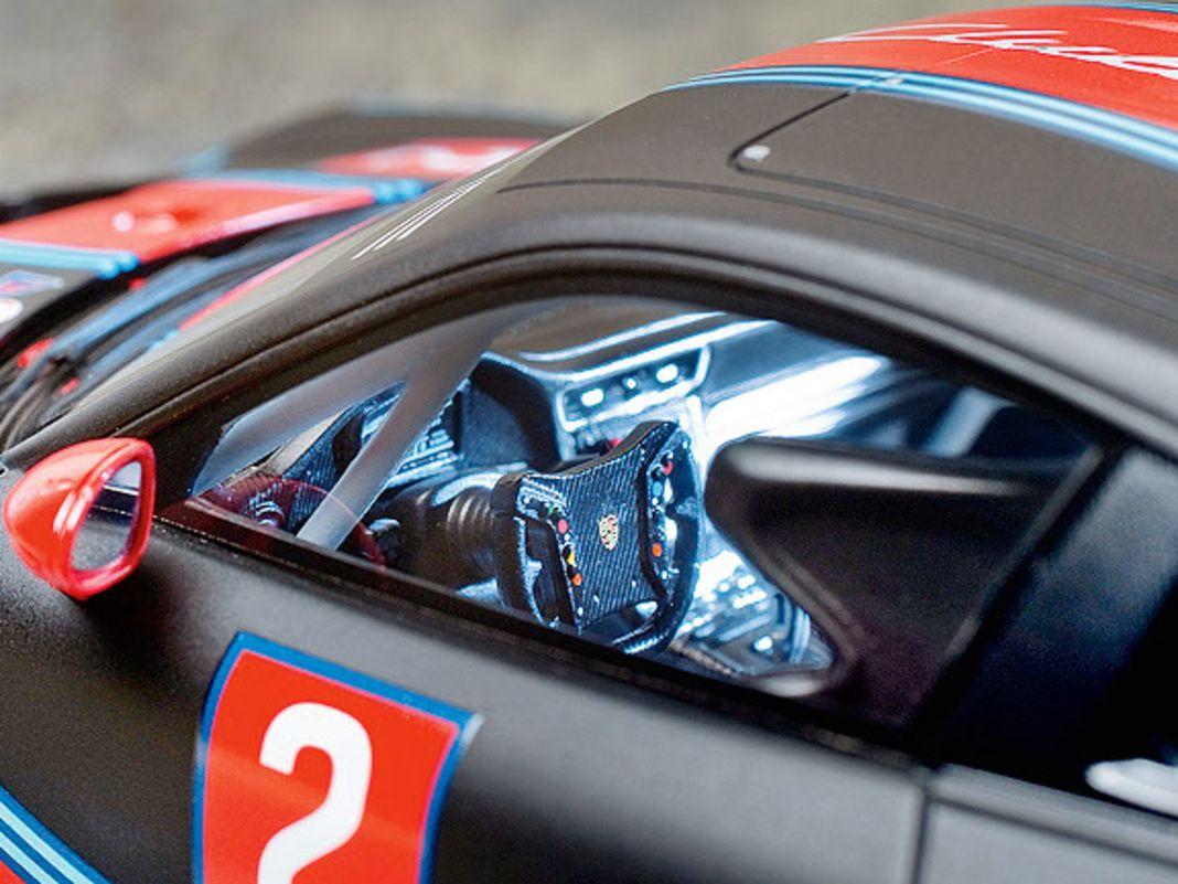 Alle drei Resine-Porsche mit geschlossener Karosserie bewegen sich in Sachen Finish und Details auf einem ausgezeichneten Niveau