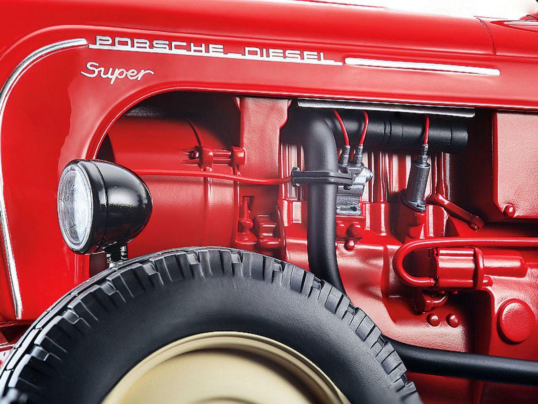Porsche Diesel Super von Minichamps in 1:8