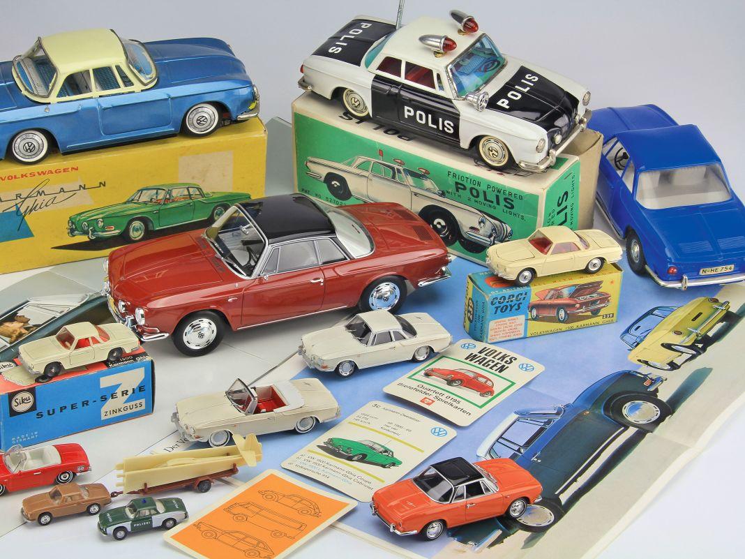 Die Bügelfalten machten den großen Karmann unverwechselbar. Modelle von diesem VW sind aber eher selten geblieben.