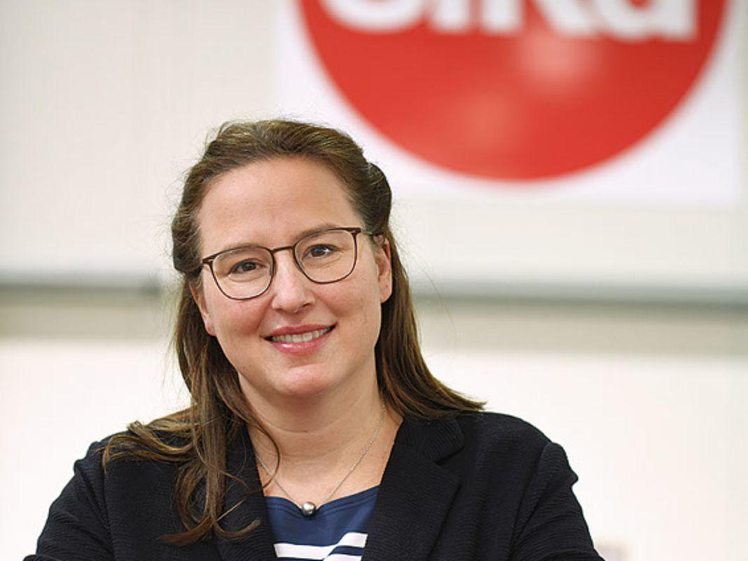 Britta Sieper, Geschäftsführerin der Sieper GmbH, also Wiking und Siku