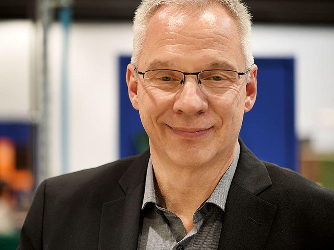 Winfried Neumann, Leiter der Arbeitsvorbereitung bei der Traditionsmarke