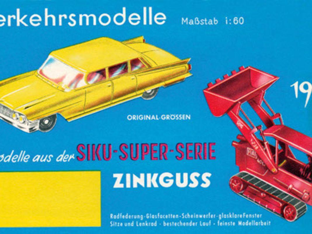 Siku-Kataloge aus der Die-Cast-Ära