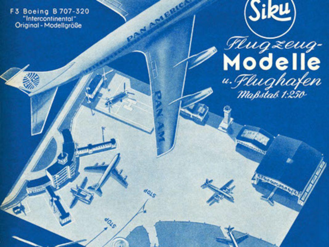 Historischen Kunststoffflugzeuge