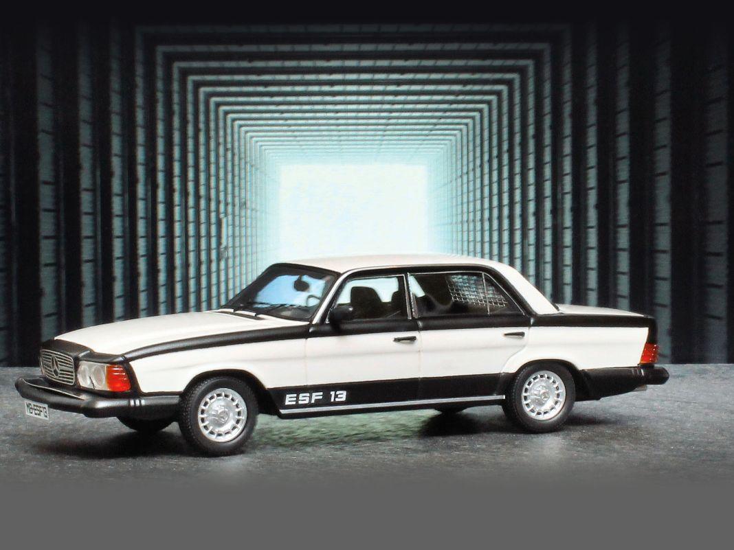 Dass Sicherheit bei Mercedes-Benz zur Tradition gehört, beweist Matrix Scale Models mit dem ESF 13 im Maßstab 1:43