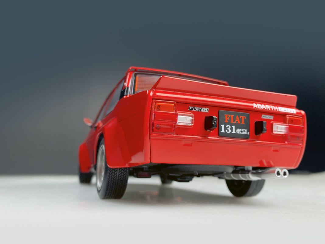 Fiat 131 als Abarth Rallye