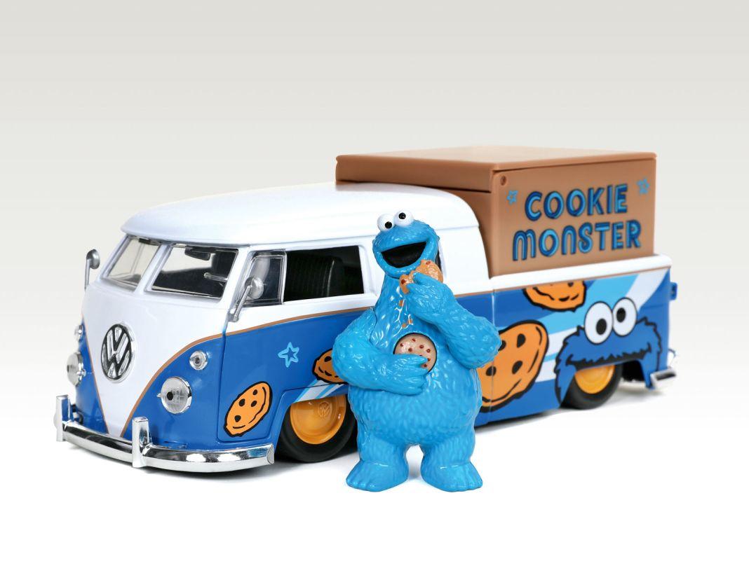 """Vorsicht, Krümel: Das """"Cookie Monster"""" aus der Sesamstraße hat gut lachen"""