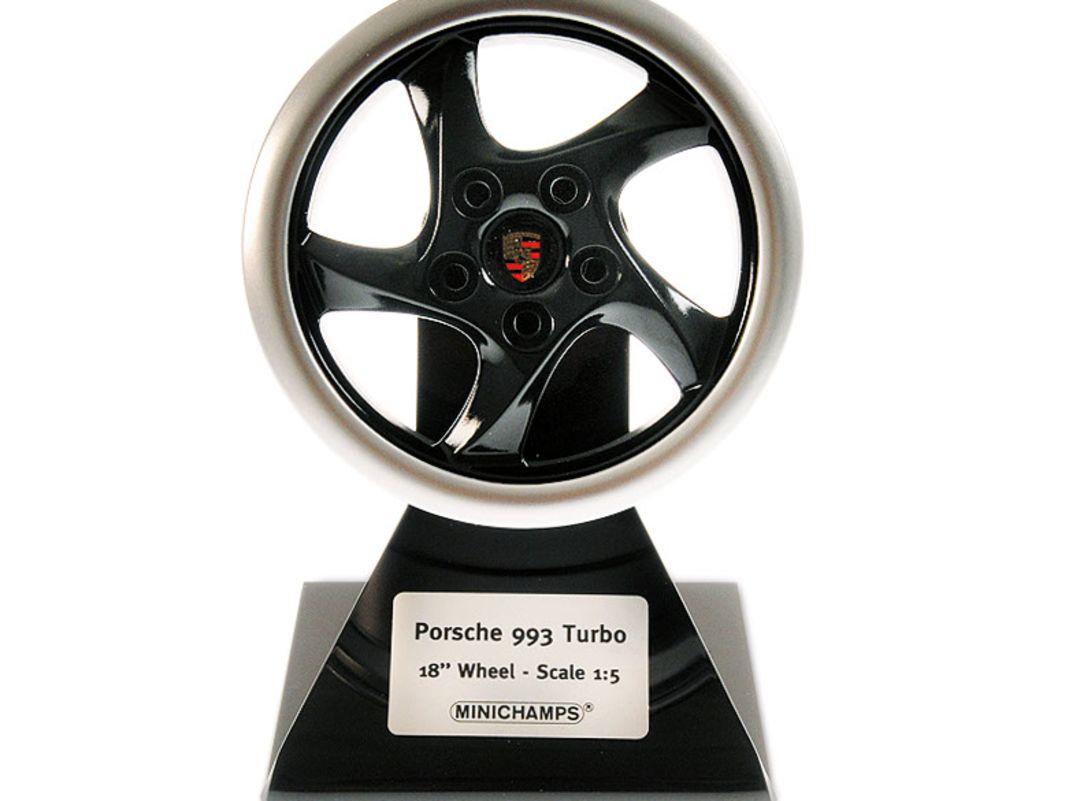 Minichamps 2021: 1:5-Felge von Porsche