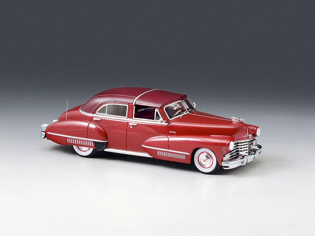 Der rote Brougham stammt von 1942