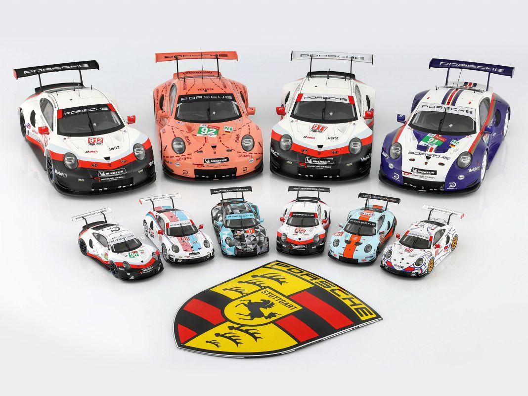 '18 Porsche 911 RSR als Sondermodell von Ixo in 1:43 und 1:18