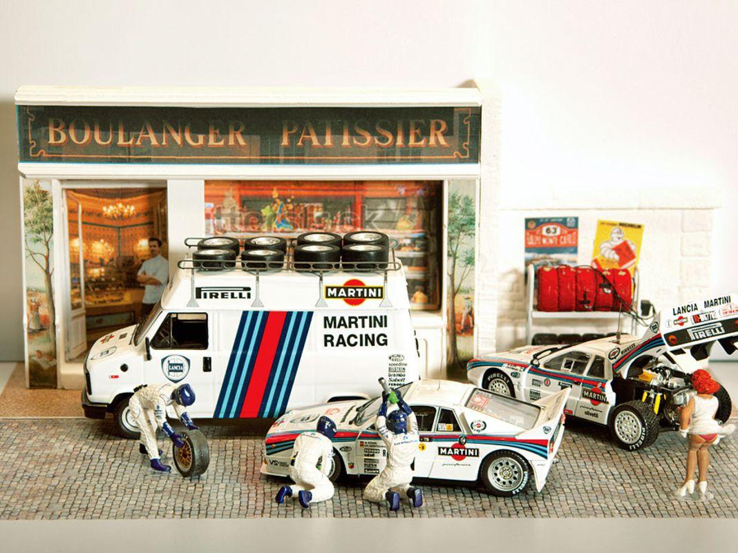 Die Röhrl-Show zeigt seltene Originalfahrzeuge und fantastische 1:43-Dioramen aus der Rennkarriere des Rallye-Doppelweltmeisters