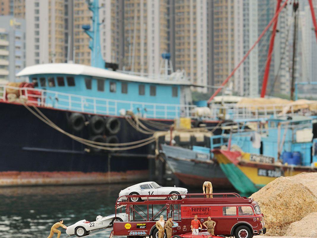 Bartoletti im China-Hafen