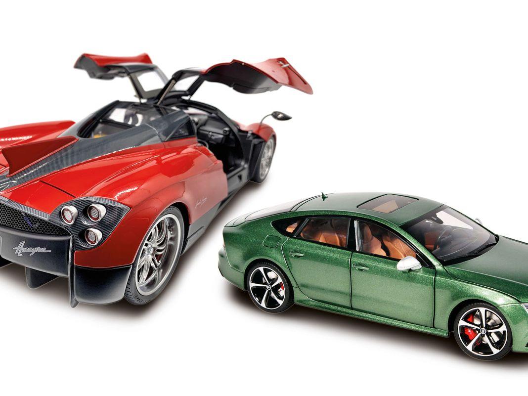 Egal ob Pagani in 1:12 oder Audi in 1:18: Keng Fai setzt auf  hochdetaillierte Modelle mit ausgefeilten Finessen