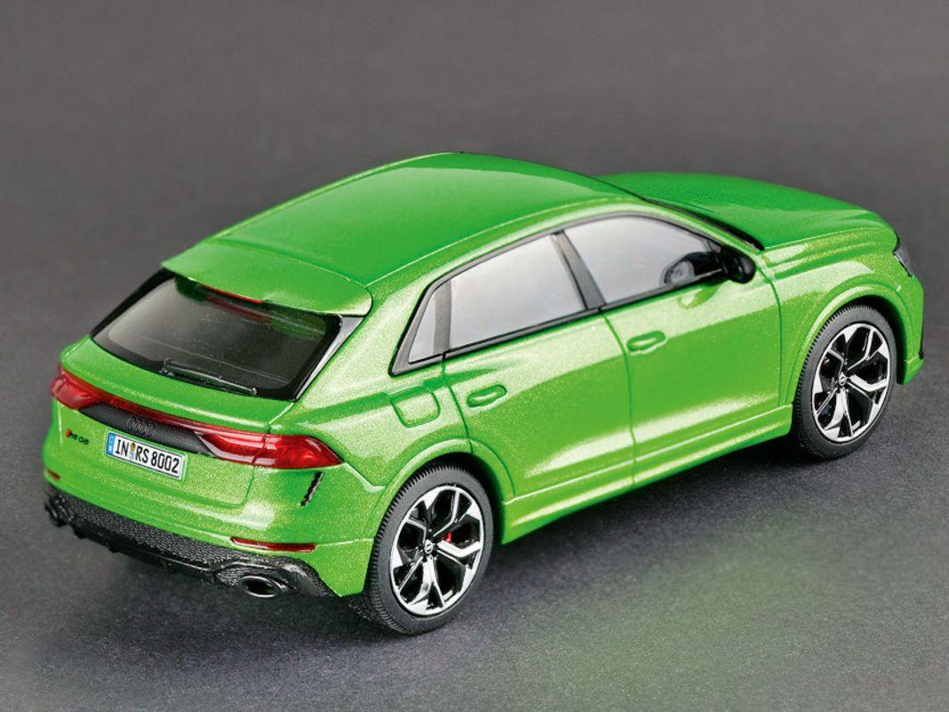 Jaditoys mutiert zum Haus- und Hoflieferanten für  Audi. Das beweist auch der RS Q8 im Maßstab 1:43.