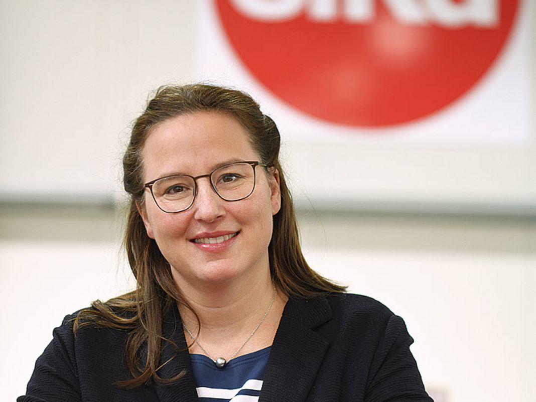 Britta Sieper, Geschäftsführerin der Sieper GmbH