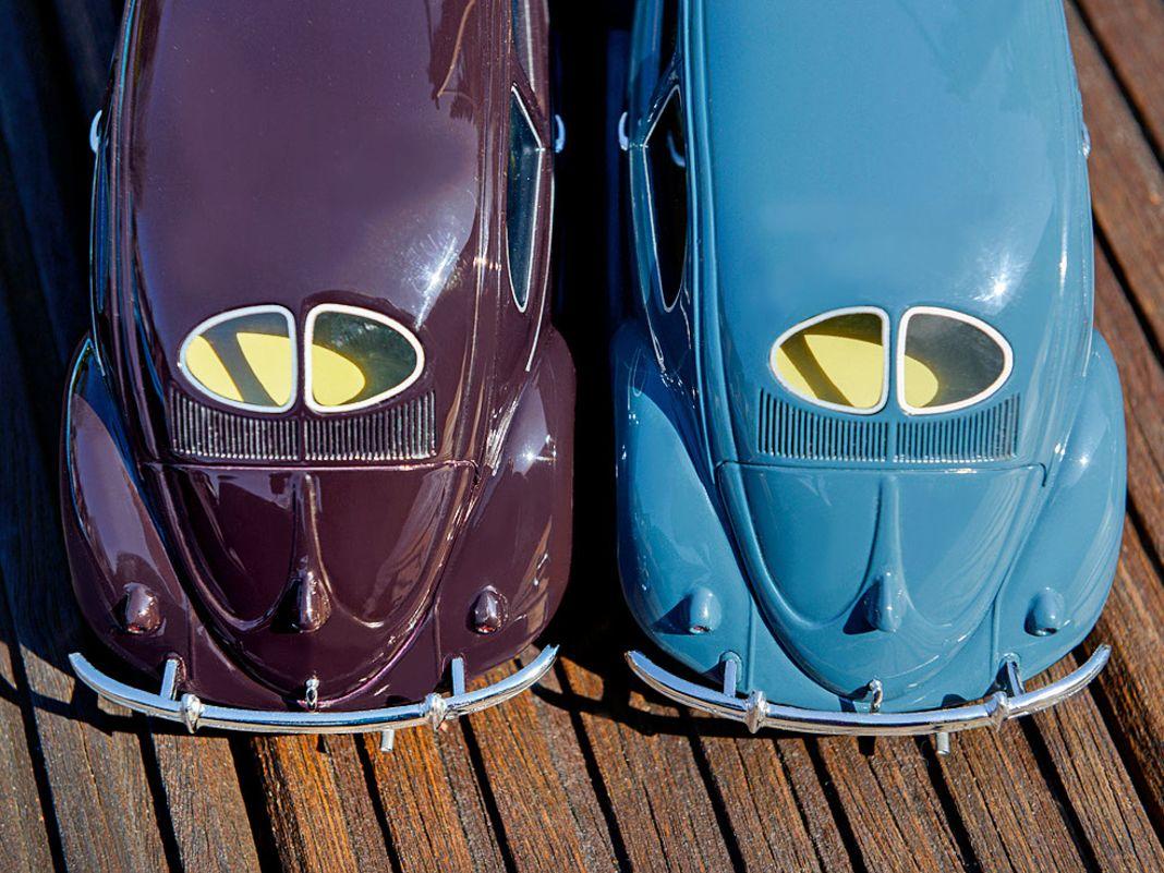'52 VW Brezelkäfer von Schuco in 1:18