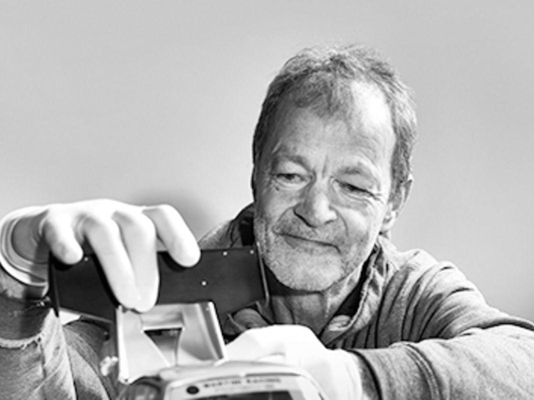 Ulrich Hakenjos perfektionierte den 1:12- Kit aus Japan auf seine unverwechselbare Art und Weise