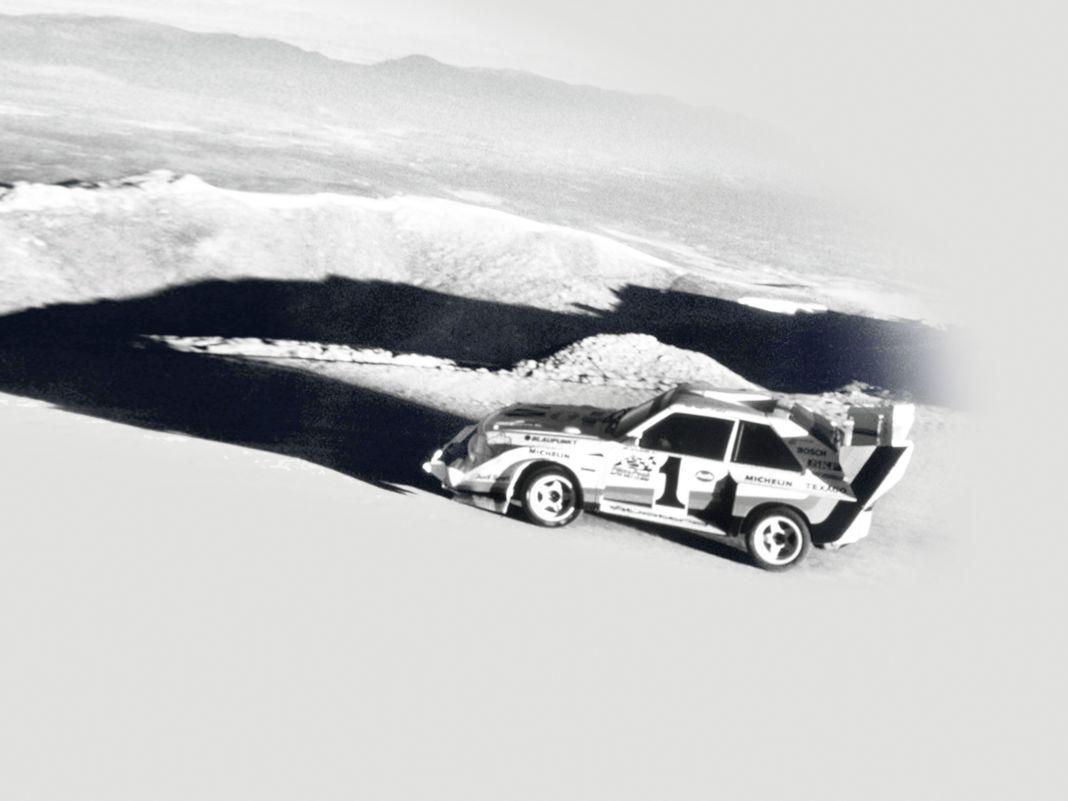 Hinter dem Gipfelsturm des Originals mit Walter Röhrl am Steuer will auch Autoart mit seinem 1:18er nicht zurückbleiben