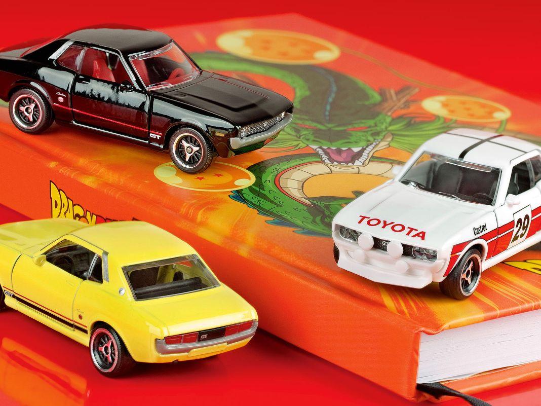 Der ersten Generation der Toyota Celica, die ab 1971 auch in Deutschland zu bekommen war, widmet Majorette ein hübsches Jubiläumsmodell