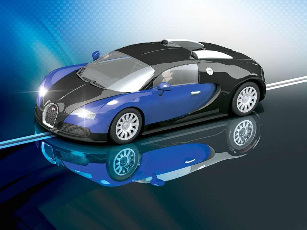 15 Jahre Bugatti Veyron en miniature