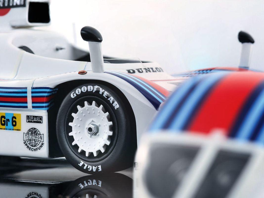 77 Porsche 936 von Tecnomodel in 1:18