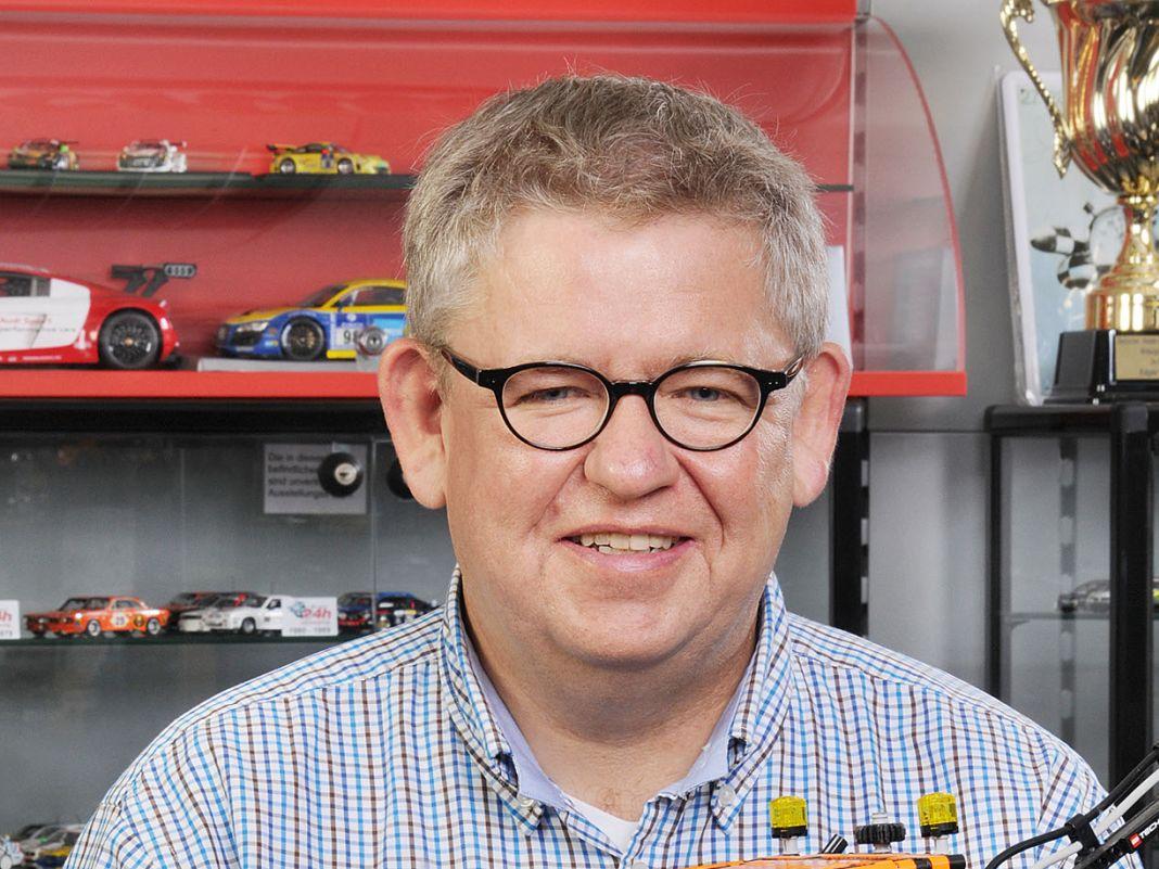 """Andreas Bunte von Mini Auto Bunte aus Mülheim: """"Bei der Neueröffnung haben wir sogar einen kleinen Boom erlebt. Es gibt Nachholbedarf!"""