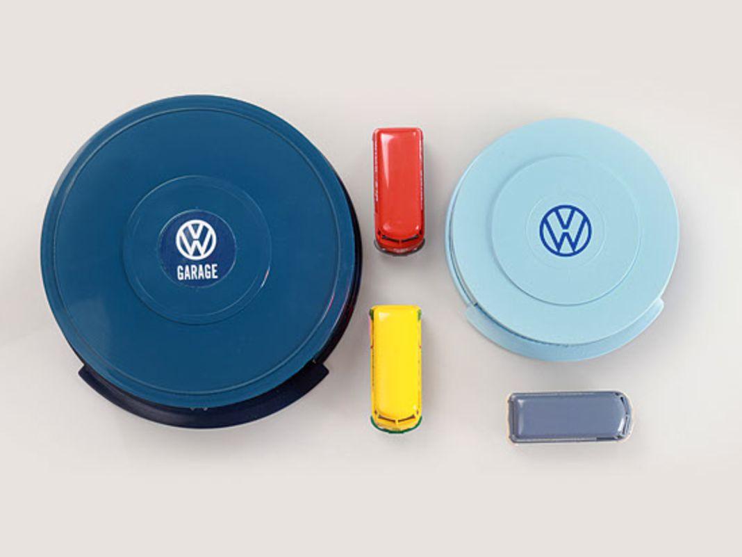 VW-Rundgaragen in zwei Versionen von Wiking