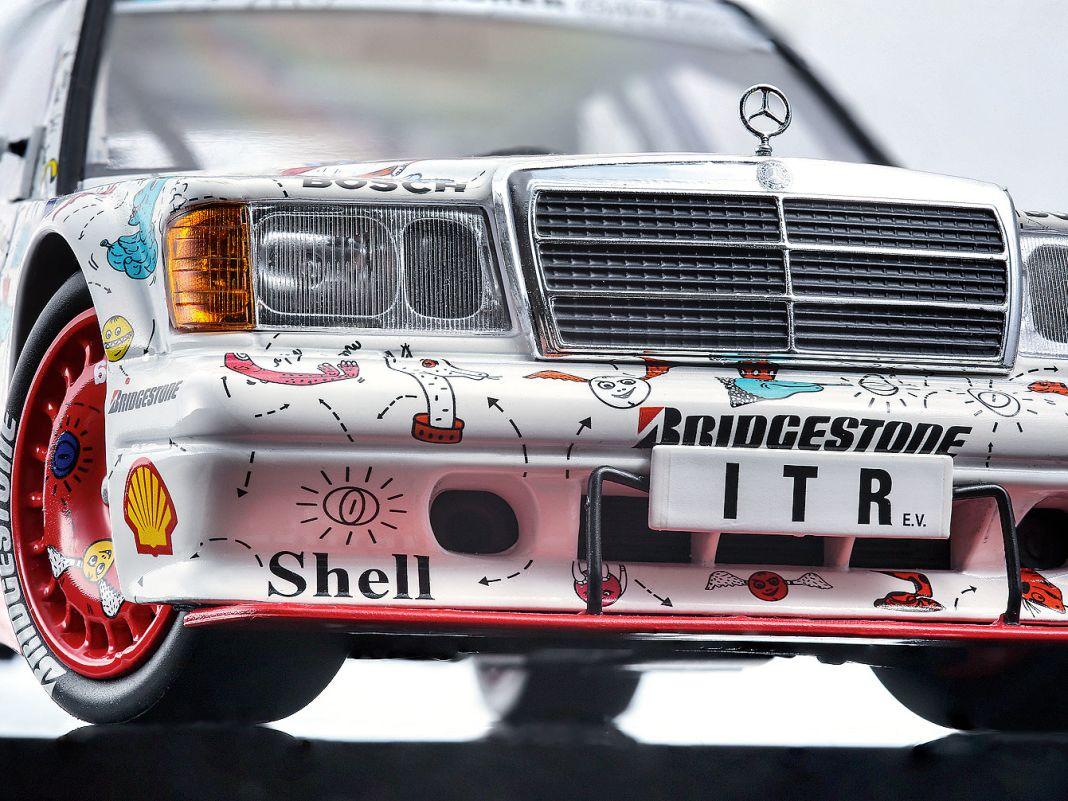 """'91 Mercedes Evo 2 """"Andora"""" von Minichamps in 1:18"""