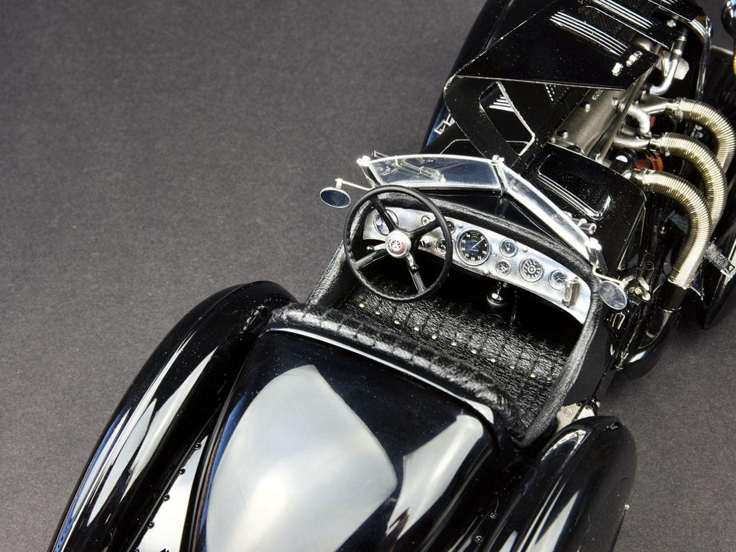 """1934 Mercedes-Benz SSK """"Trossi"""" von CMC in 1:18"""